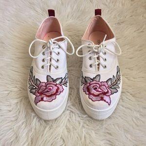 Topshop Women's Rose Sneakers